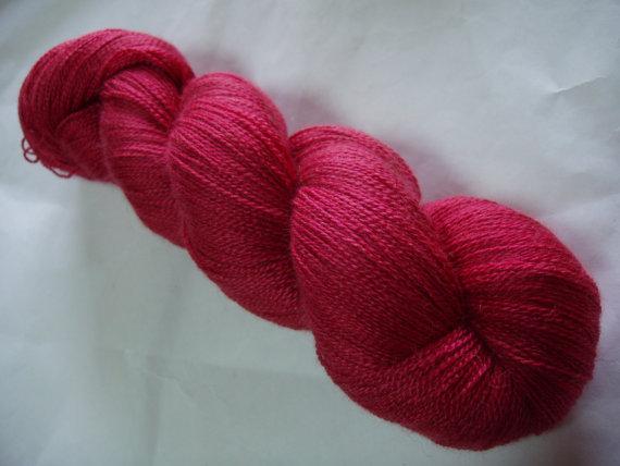 scarlet yarn