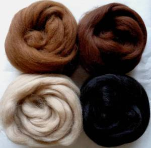 alpaca mix with darker brown
