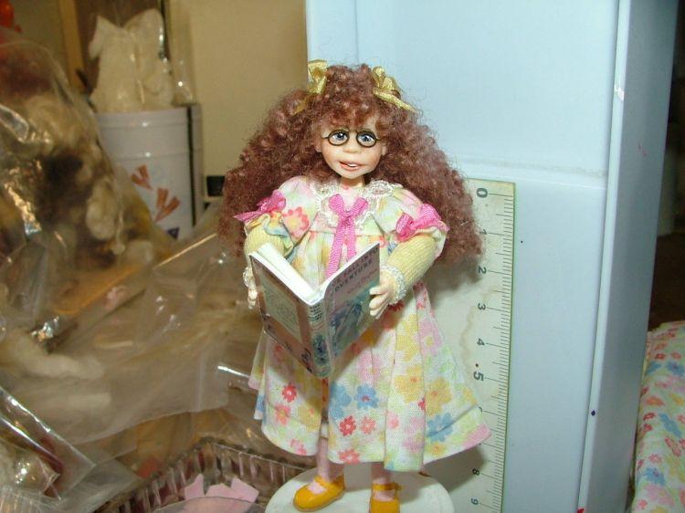 Elaine miniature doll